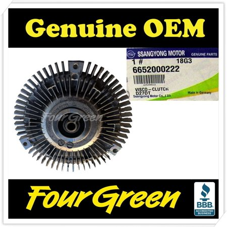 Genuine viscous clutch for ssangyong kyron actyon rexton stavic oem genuine viscous clutch for ssangyong kyron actyon rexton stavic oem 6652000222 fandeluxe