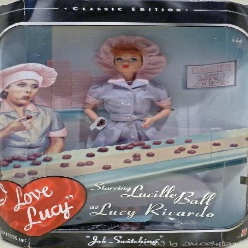 Barbie I Love Lucy Job Switching Doll Classic Edition (19...