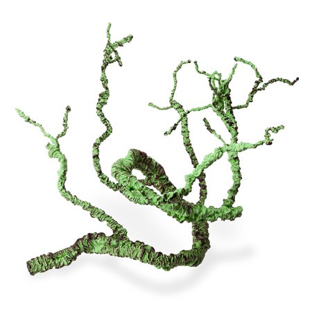 Jungle Vines Decor for Lizards, Frogs, Snakes and More Reptiles, Aseptic and Adjustable Design, 3.6 Feet Full Length (root diameter 2cm) - Jungle Jewels Reptiles