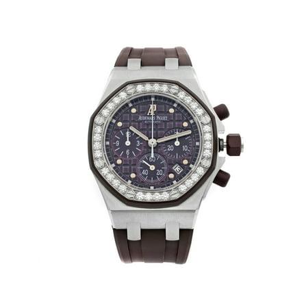 Audemars Piguet Royal Oak Offshore Steel Plum Dial Watch 26048SK.ZZ.D066CA.01