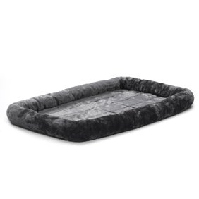 6cbb7ebb54b3 Pet Washable Home Blanket Cat Dog Bed Cushion Mattress Kennel Soft Crate Mat  Gray