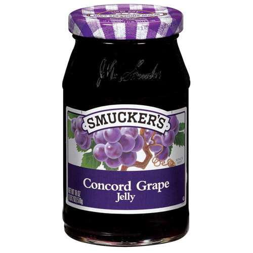 Smucker's Concord Grape Jelly, 18 oz