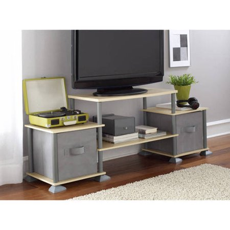 Mainstays No Tools 3 Cube Storage Entertainment Center For