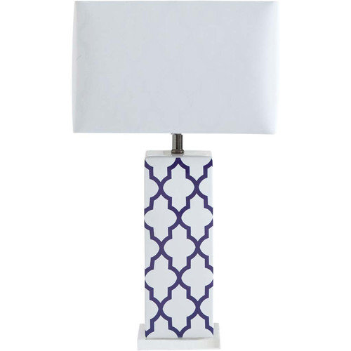 Mercana Cruble 26.8'' H Table Lamp with Rectangular Shade
