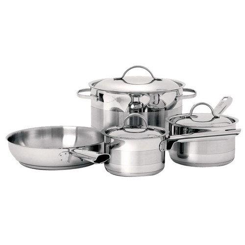 Cuisinox Gourmet 3-Ply Stainless Steel 7-Piece Cookware Set
