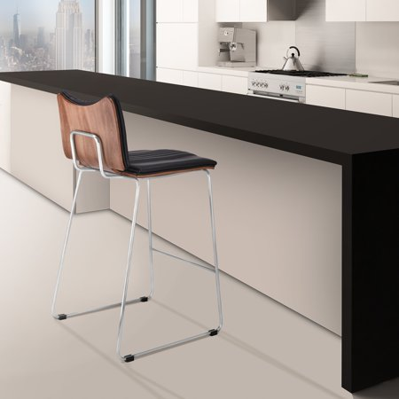 Brilliant Todays Mentality Monica Modern 26 Counter Height Bar Stool Onthecornerstone Fun Painted Chair Ideas Images Onthecornerstoneorg