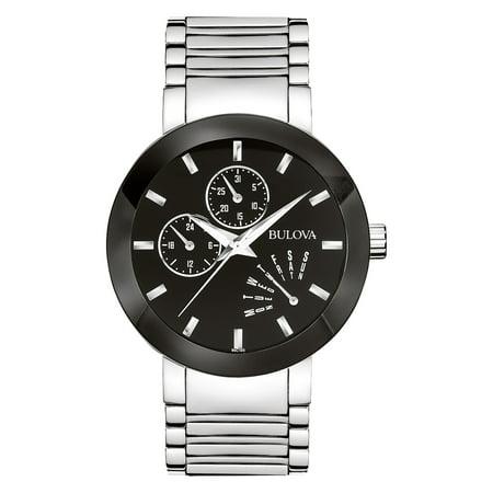 Bulova Men's Stainless Steel Dress Watch 96C105