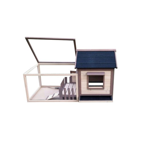Advantek The White Picket Fence Rabbit Hutch by