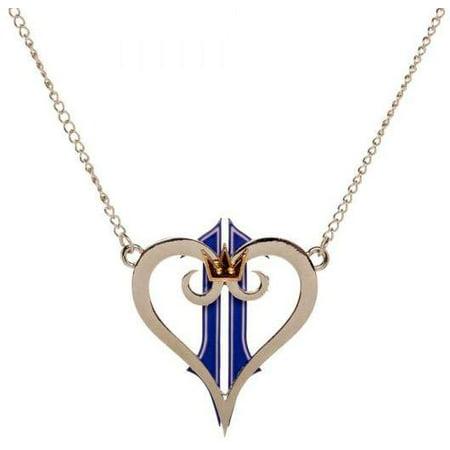 Disney Kingdom Hearts Kingdom Heart Logo Necklace Apparel Pittsburgh Steelers Logo Heart Pendant