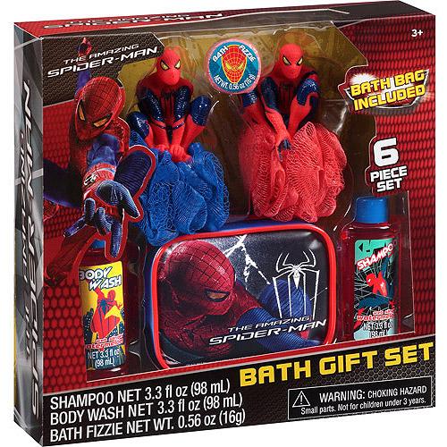 The Amazing Spider-Man Web Slingin' Watermelon Scented Bath Gift Set, 6 pc