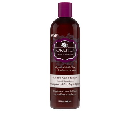 HASK Orchid & White Truffle Moisture Rich Shampoo, 12oz. (Moisture Rich Shampoo)