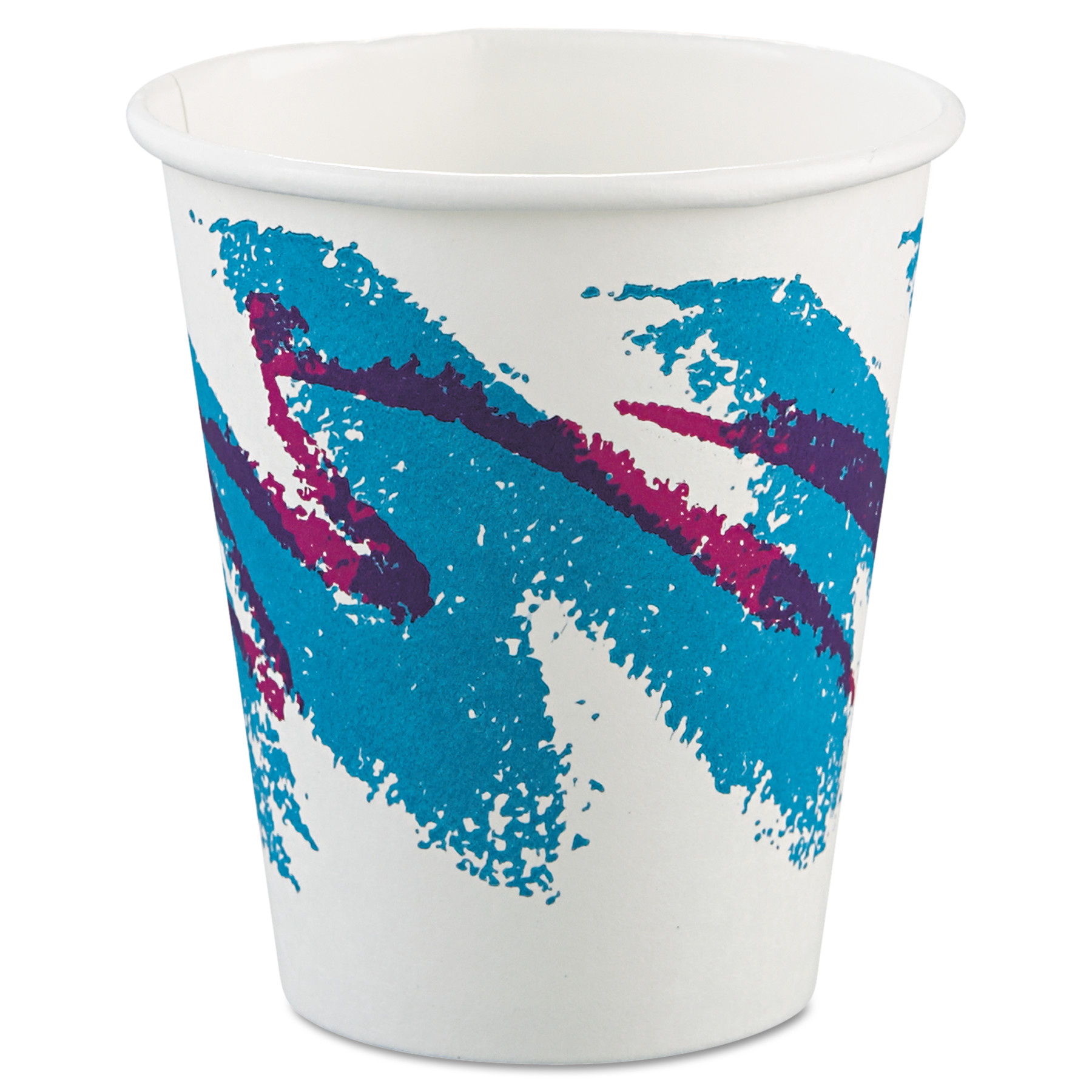 Solo Cup Company Jazz Paper Polycoated 6 Oz Hot Cups, 50 count, (Pack of 20)