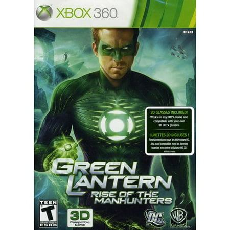 Green Lantern: Rise of Manhunters (Xbox 360)
