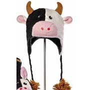 Youth/Adult Calvin The Cow Pilot Hat by Knitwits - A1081, One Size