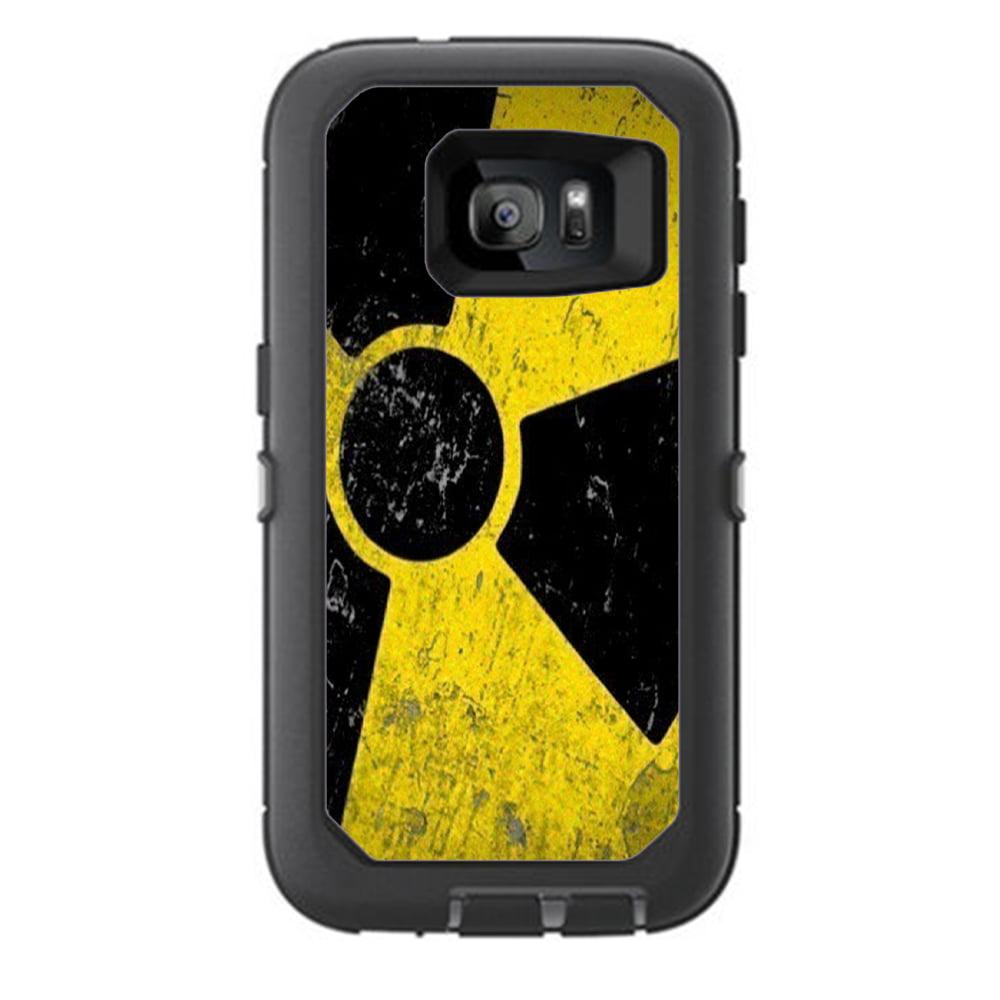 Skins Decals For Otterbox Defender Samsung Galaxy S7 Case / Bio Hazard Zombie