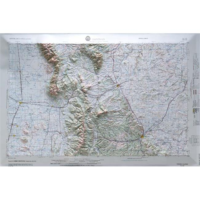 American Educational Products Nj138 Trinidad Map