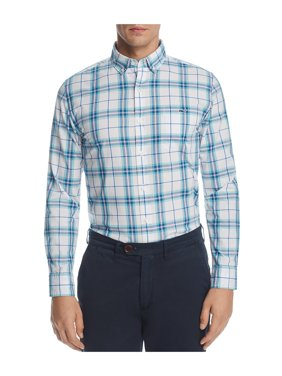 b1e737d09f508 Product Image Vineyard Vines Mens Slim Tucker Button Up Shirt aquaocean L