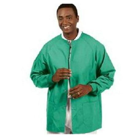 WP000-6720-L 6720-L 6720-L Jacket Warm-Up Poly/ Cttn Fashion Blend Unisx Jade Green Lg Ea Fashion - Jacket Wholesale