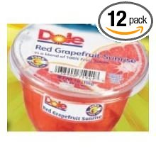 12 PACKS : Dole Red Grapefruit in Juice, 7 Ounce -- 12 per case. by