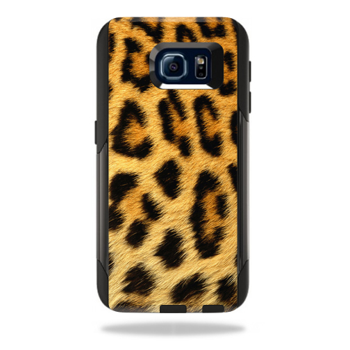 MightySkins Protective Vinyl Skin Decal for OtterBox Commuter Samsung Galaxy S6 cover wrap sticker skins Cheetah