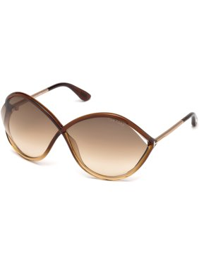 22fd9ce686f Product Image TOM FORD FT 0528 Sunglasses 50F Dark Brown Other   Gradient  Brown