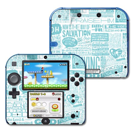 Mightyskins Protective Vinyl Skin Decal Cover for Nintendo 2DS wrap sticker  skins Faith