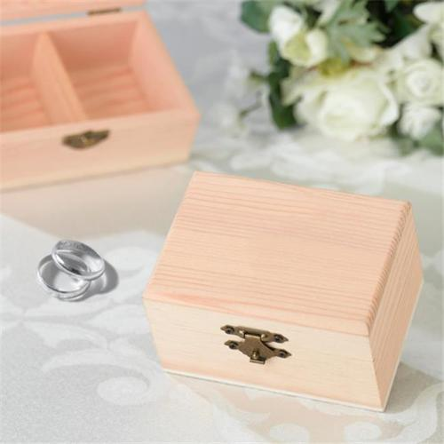 Pine Ring Bearer Box, Blank