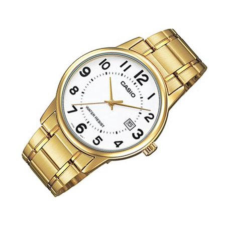 e633783a5 Casio - MTP-V002G-7B Men's Standard Analog Gold Tone Stainless Steel ...