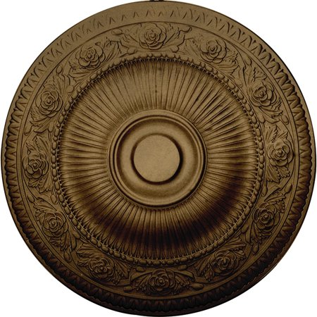 24 1 4 OD x 2 P Neuveau Ceiling Medallion Fits Canopies up to 6 3 8 H