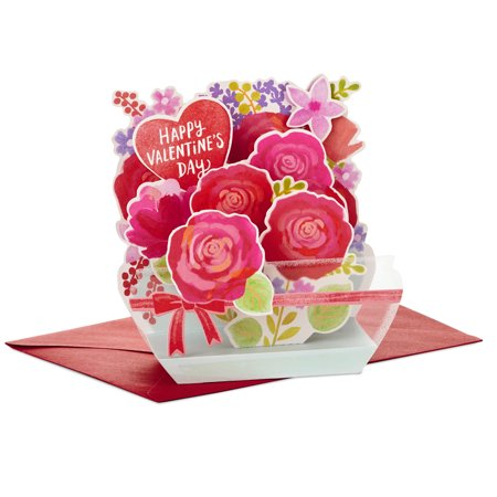 Hallmark Paper Wonder Displayable Pop Up Valentine