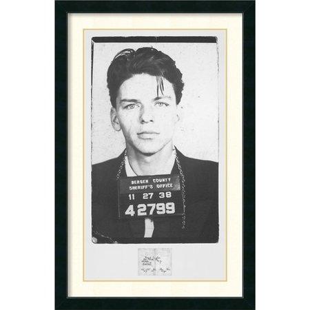 Amanti Art 'Frank Sinatra Mugshot' Framed Photographic Print