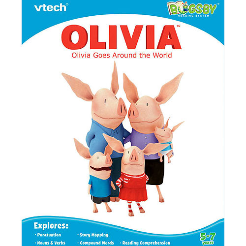 VTech Bugsby Book Olivia by