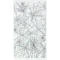 Plastic Spider Web Halloween Candy Bags, 20ct