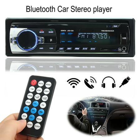 Call Audio (Lcd Digital Screen bluetooth Car Stereo Audio MP3 Player In-Dash Aux Receiver Handfree Free Call S D/USB/MP3 FM Radio)