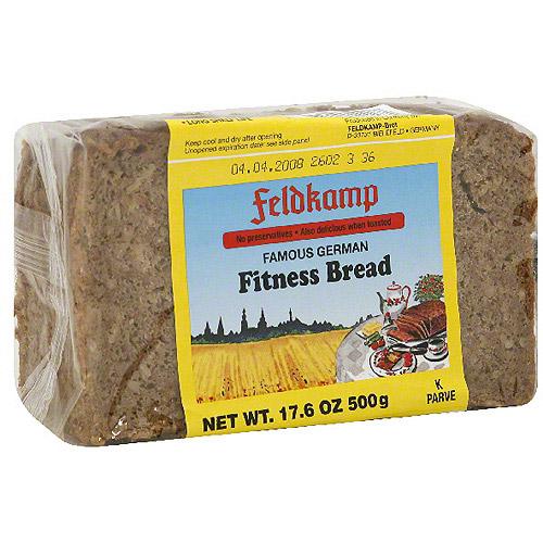 Feldkamp Famous German Fitness Bread, 16.75 oz (Pack of 12) by Generic