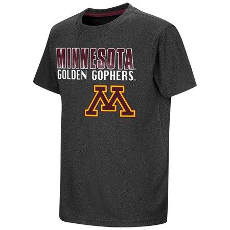 Youth NCAA Minnesota Golden Gophers Short Sleeve Tee Shirt (Team Color)