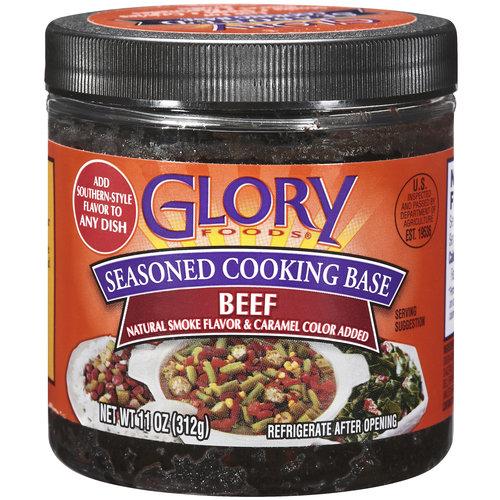Glory Foods Beef Seasoned Cooking Base, 11 oz