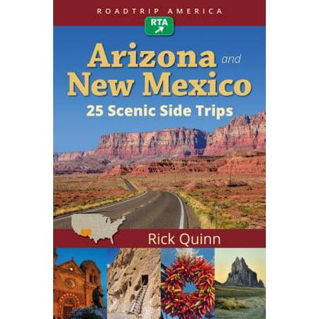 Roadtrip america arizona & new mexico: 25 scenic side trips: (Roadtrip Checklist)