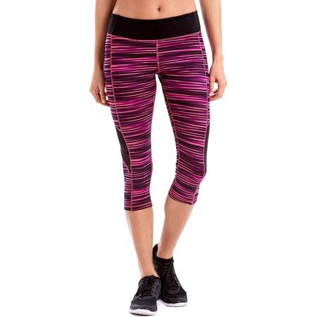 (Sport Women's Performance Capri Leggings w/ Inserts)