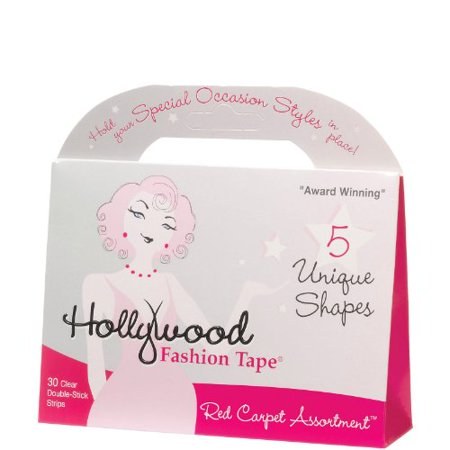 2 Pack of Hollywood Fashion Tape Red Carpet Assortment - Hollywood Tape