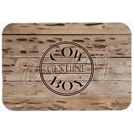 7.75 x 9.25 In. Genuine Cow Boy Branded Mouse Pad, Hot Pad Or Trivet - image 1 de 1