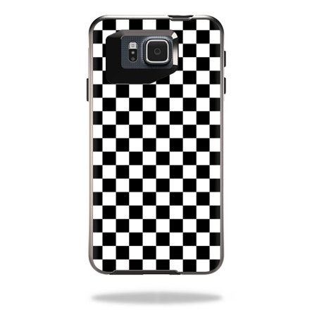 Kid Alpha Check - Mightyskins Protective Vinyl Skin Decal Cover for OtterBox Symmetry Samsung Galaxy Alpha Cover wrap sticker skins Check