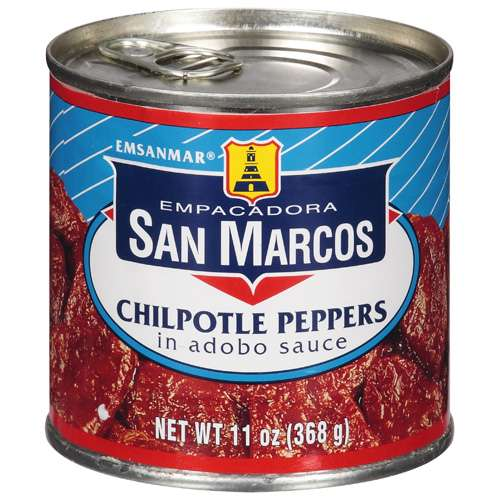 Empacadora San Marcos Chipotle Peppers In Adobo Sauce, 11 oz by Empacadora San Marcos Usa