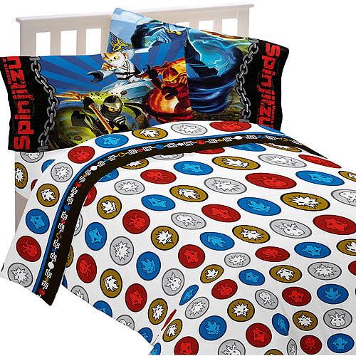 "LEGO Ninjago ""Ninja Masters"" Bedding Sheet Set"
