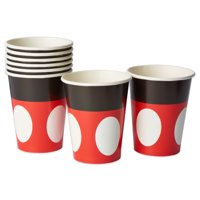 Mickey Mouse Paper Party Cups, 9 oz, 8ct