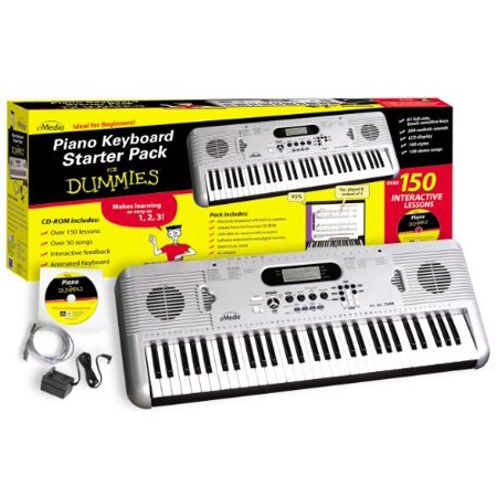 58b359c4c8b Piano Keyboard Starter Pack for Dummies - Walmart.com