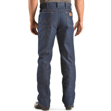 wrangler men's jeans 936 slim fit rigid - 0936den - Fit Rigid Jeans