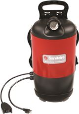 Sanitaire Sc412 Backpack Vacuum Cleaner With 50-Foot Power Cord, 11.5 Amps, 120 Cfm by Eureka