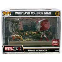 Funko POP! Marvel Whiplash vs. Iron Man Vinyl Bobble Head [Movie Moments]