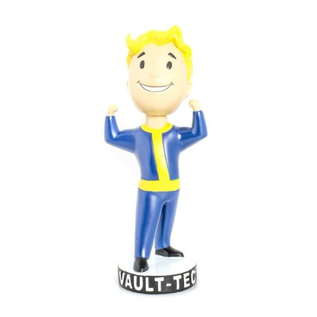 4 Vault Boy 111 Strength Bobblehead, Made of high quality PVC By Fallout From USA - Fallout Vault Suit For Sale